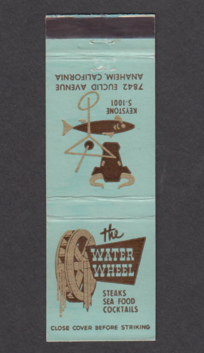 Image for The Water Wheel 7842 Euclid Avenue Anaheim CA matchcover