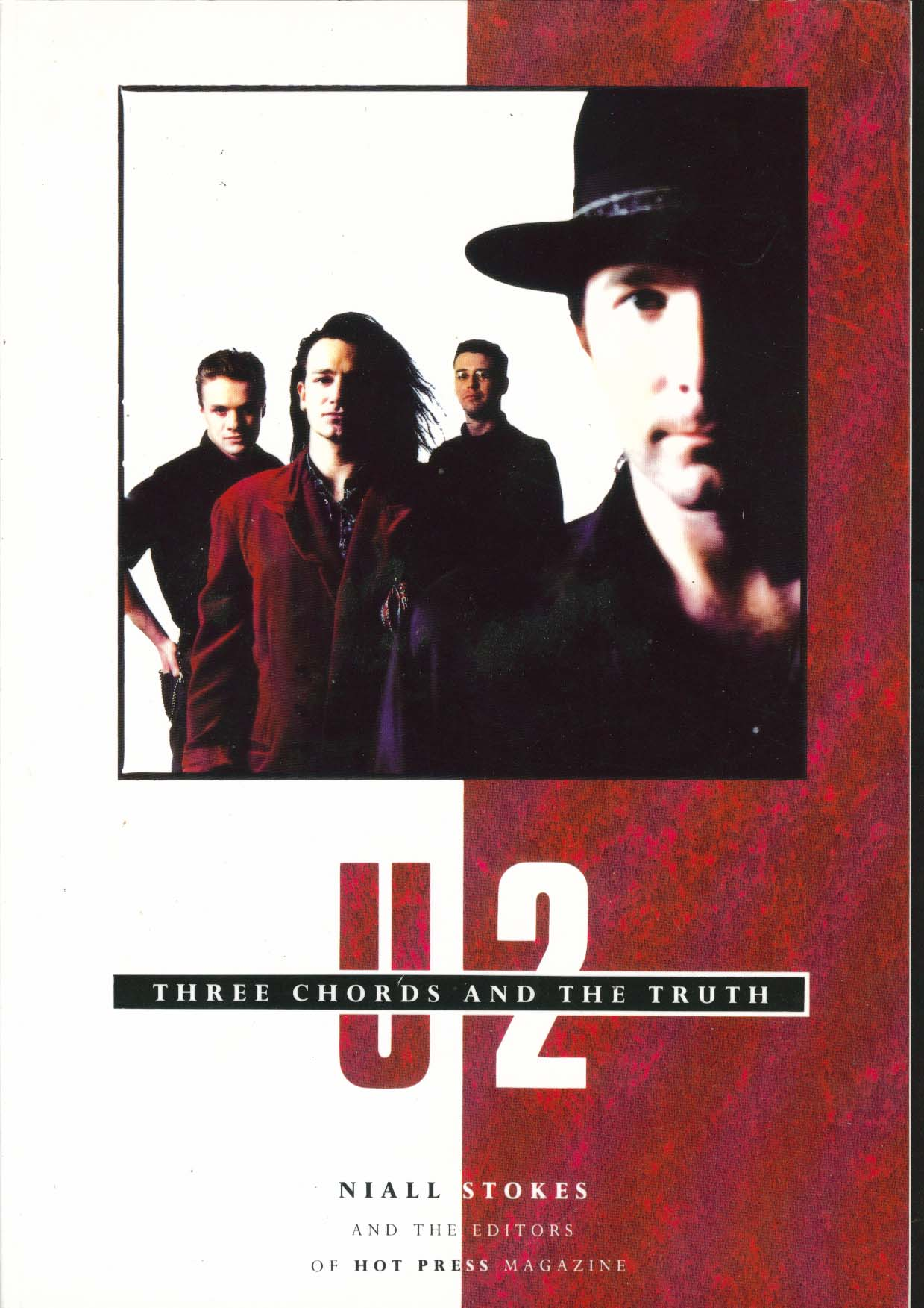 Image for U2 Three Chords & Truth Niall Stokes Hot Press 1st Edition 1989