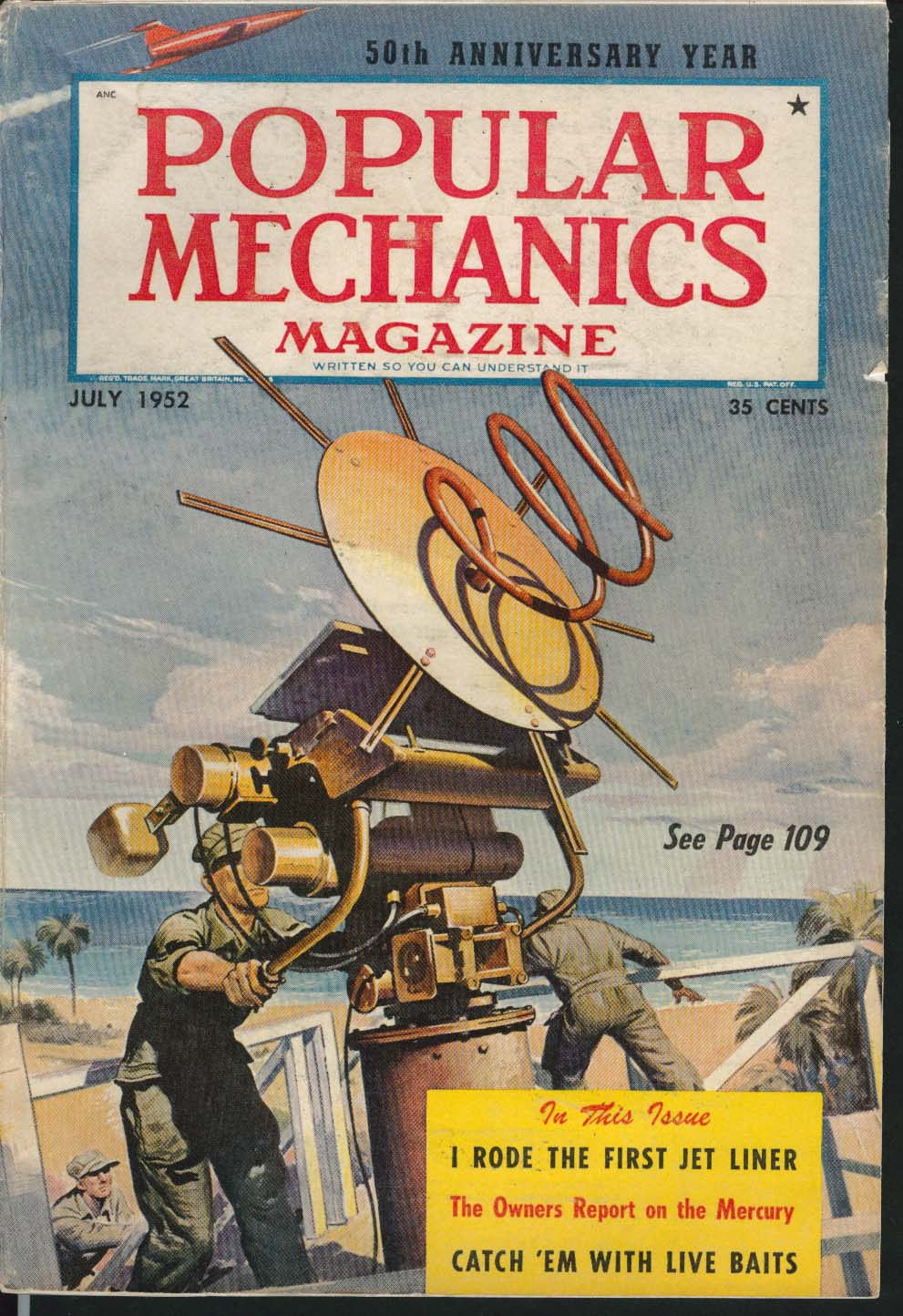 Image for POPULAR MECHANICS Television Cameras Commercial Photography Mercury ++ 7 1952