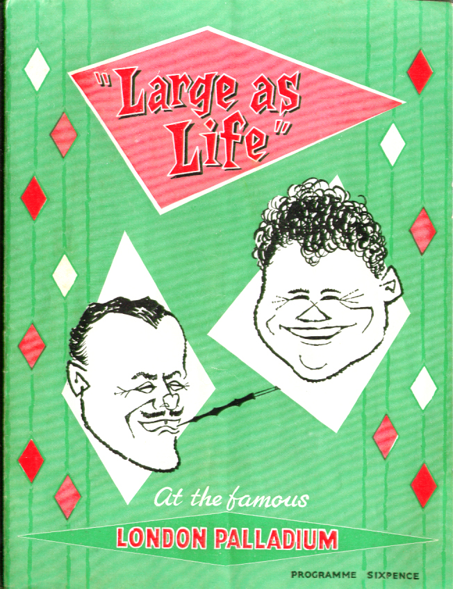 Image for Harry Secombe Terry-Thomas Large As Life program 1950s