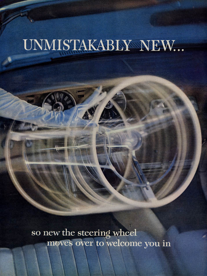 Image for Unmistakably new! Unmistakably Thunderbird ad Uniqie in all the world 1961 L