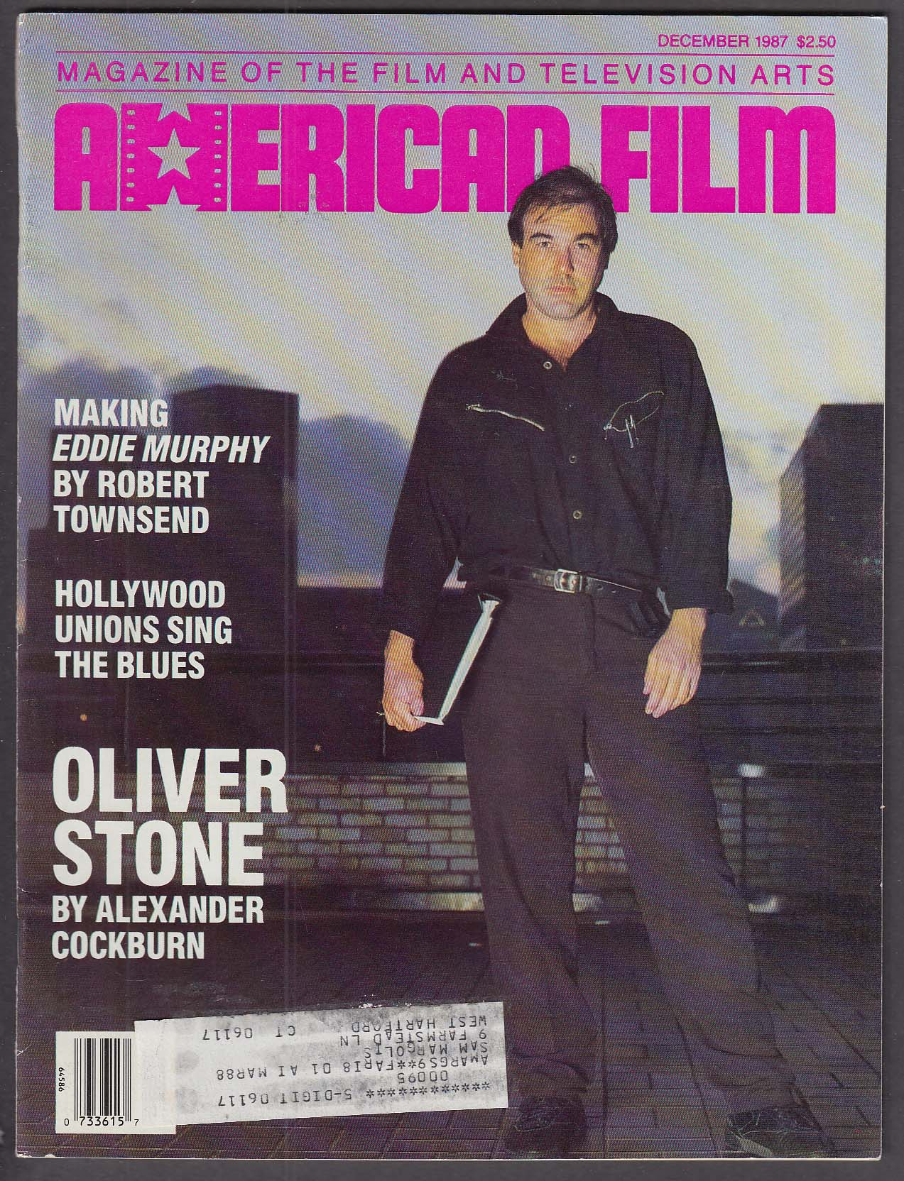 Image for AMERICAN FILM Oliver Stone Eddie Murphy 12 1987
