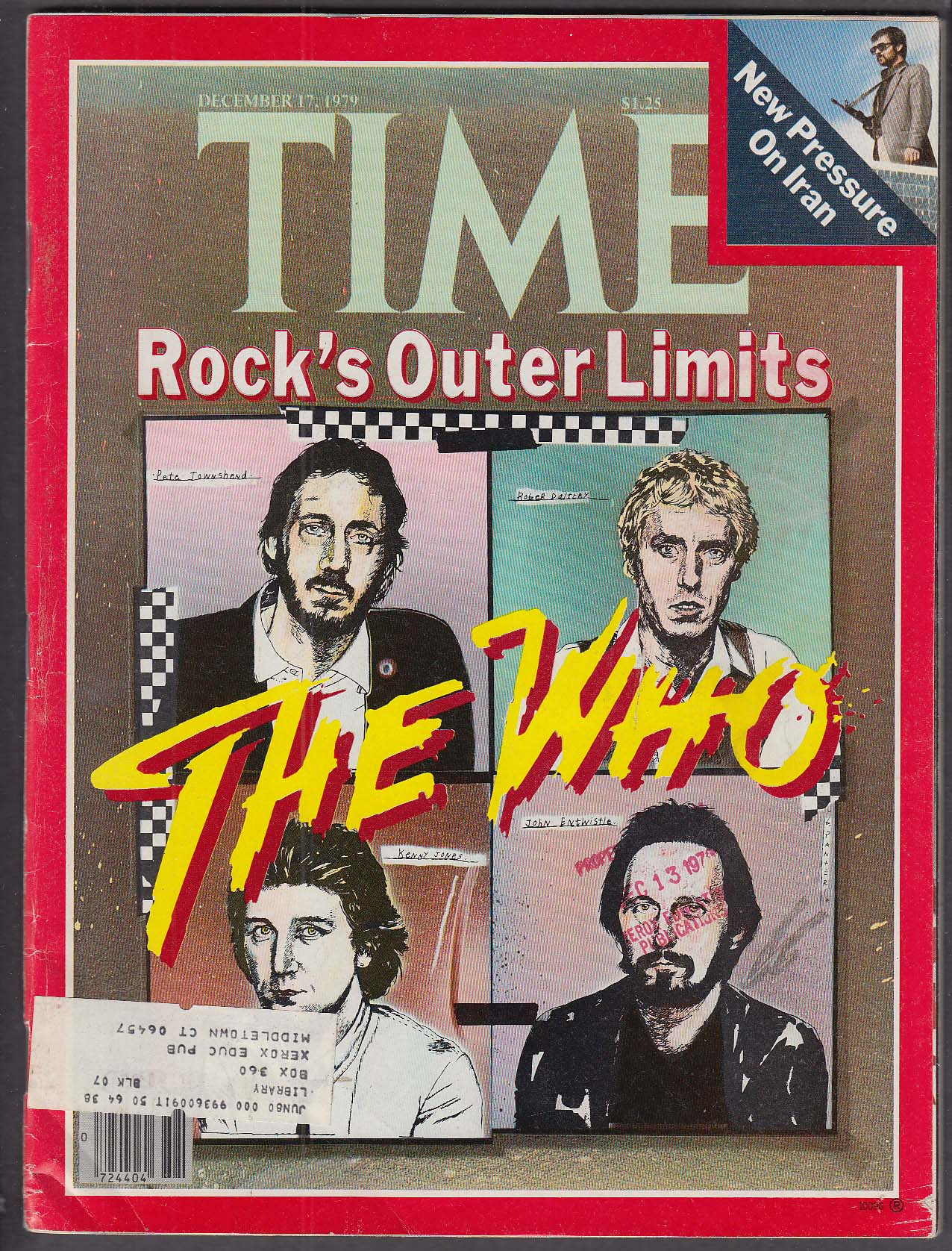 Image for TIME The Who Iran Ted Kennedy + 12/17 1979