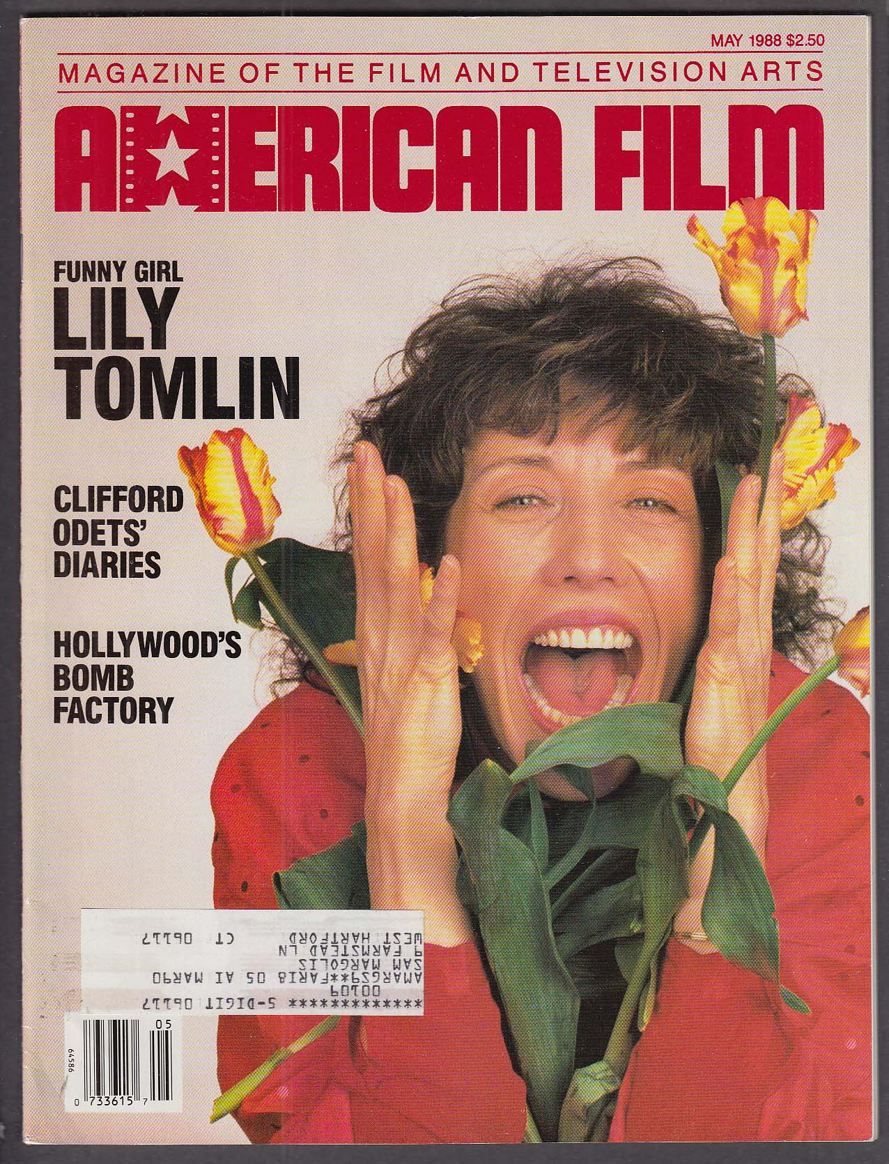 Image for AMERICAN FILM Lily Tomlin Clifford Odets Percy Adlon interview 5 1988
