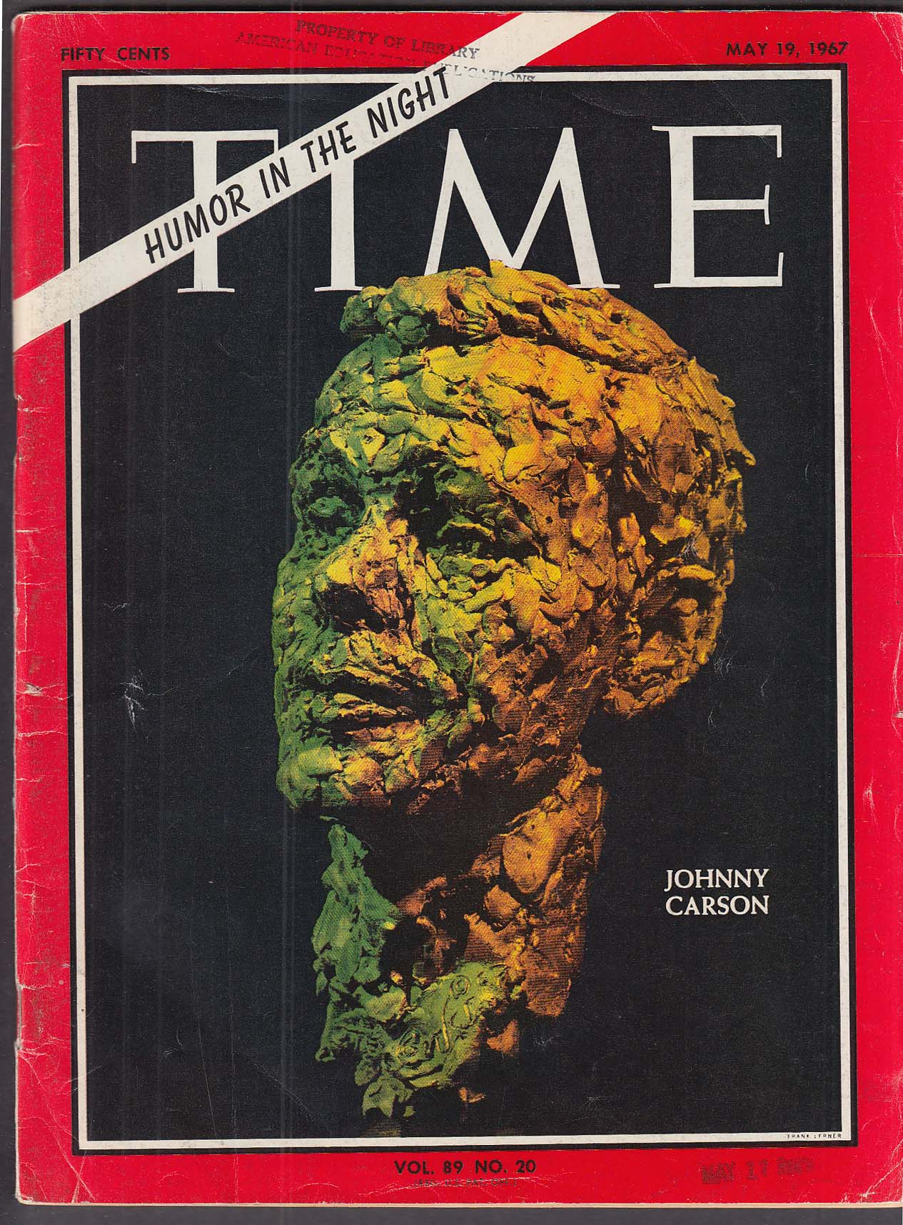 Image for TIME Johnny Carson McNamara 5/19 1967