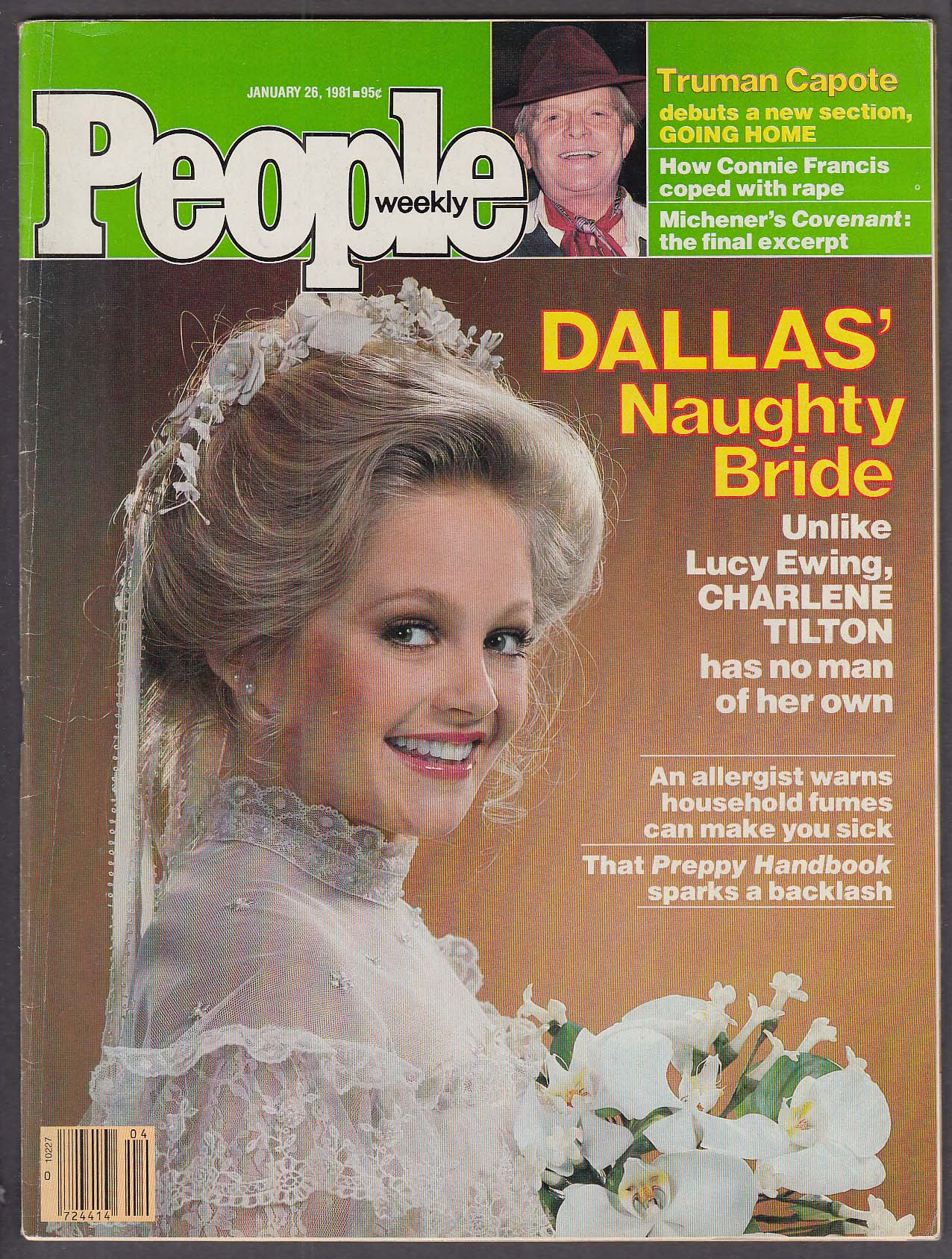 Image for PEOPLE Charlene Tilton Truman Capote 1/26 1981