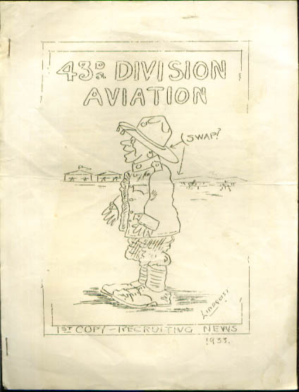 Image for 43rd Division Aviation newsletter 1933