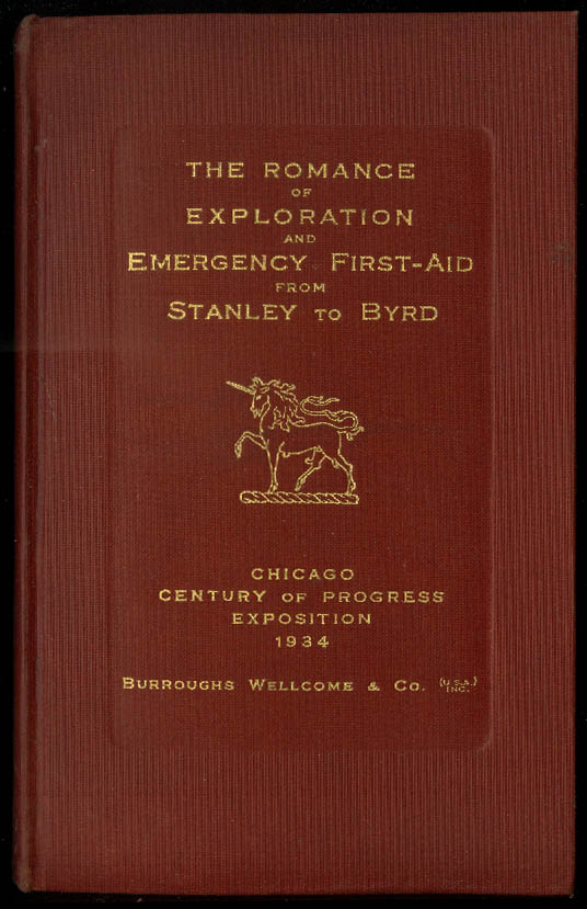 Image for Century of Progress Exploration & 1st Aid Stanley-Byrd Burroughs Wellcome 1934
