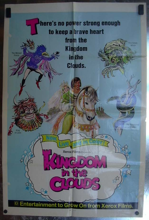 Image for Kingdom in the Clouds 1968 one-sheet movie poster