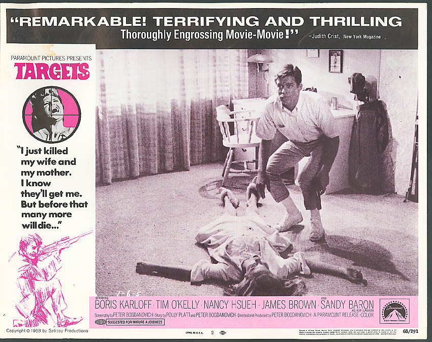 Image for Tim O'Kelly in Targets lobby card 1968