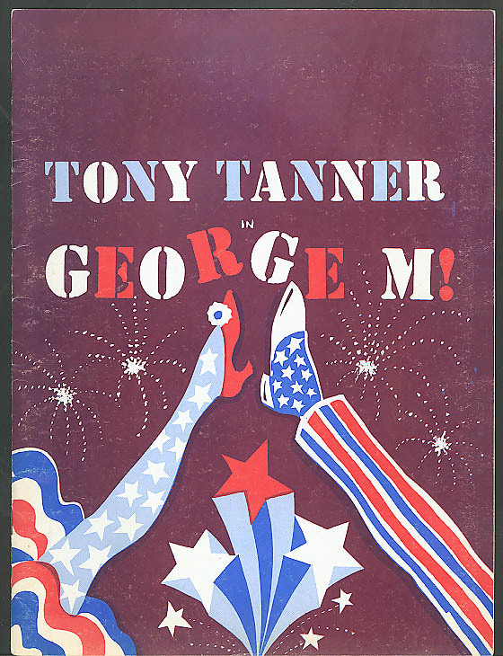 Image for Tony Tanner in George M souvenir program 1971