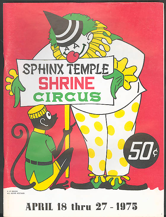 Image for Sphinx Temple Shrine Circus Program 1973