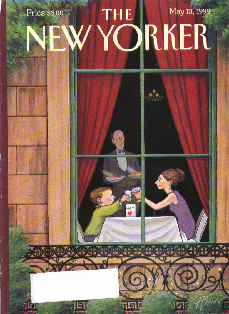 Image for New Yorker cover Bliss rich Mother's Day 5/10 1999
