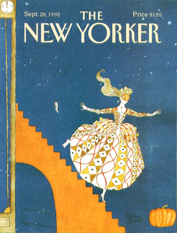 Image for New Yorker cover: Cinderella