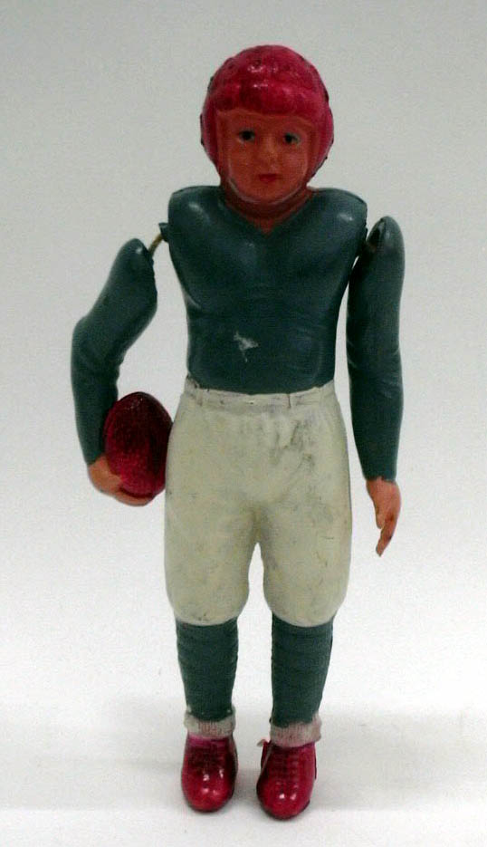 Image for Celluloid football player #3 Made in Occupied Japan 1940s