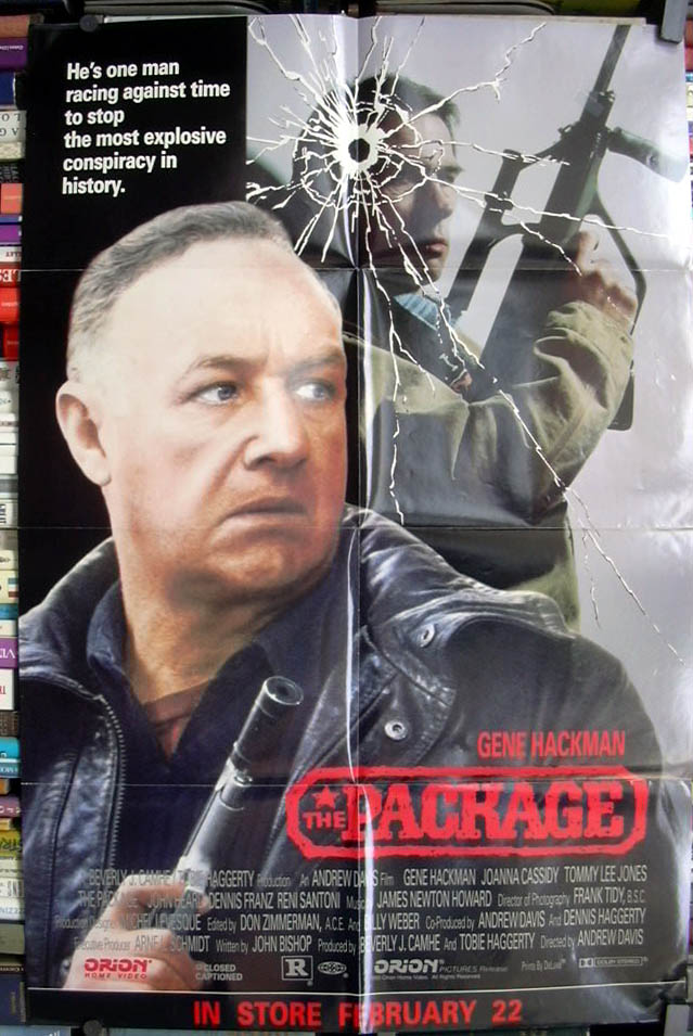 Image for The Package video store poster 1989 1990 Gene Hackman