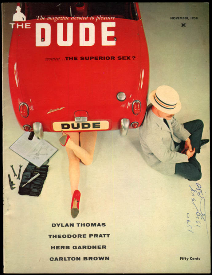 Image for THE DUDE 11 1958 Dylan Thomas; World Jazz; Igor Benson Gyrocopter helicopter