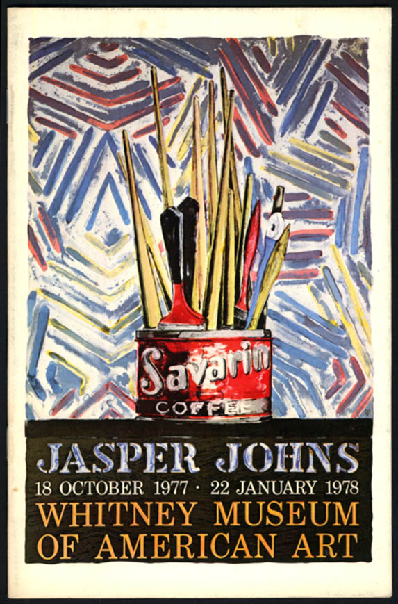 Image for Jasper Johns at Whitney Museum of American Art catalog 1977-78