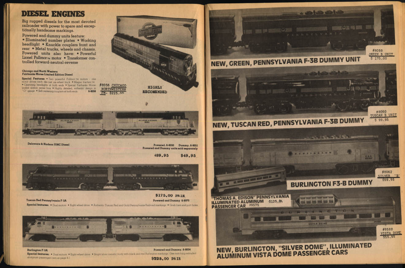Image for Train World Trainland NY Catalog #7 Lionel Fundimensions 1981 preview