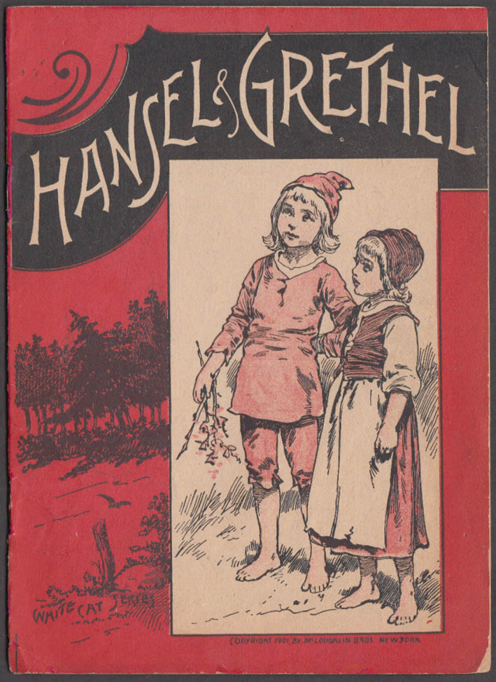 Image for Hansel & Grethel storybook White Cat Series McLoughlin Bros 1901