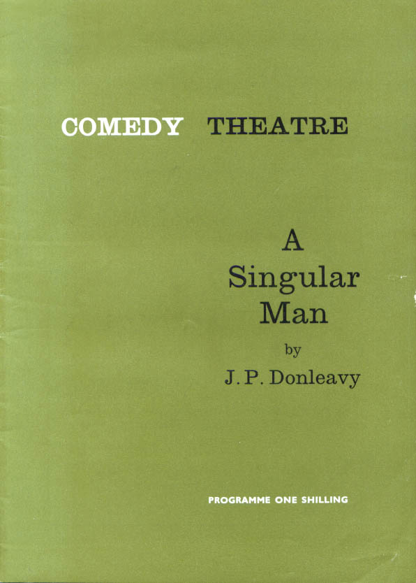 Image for Susannah York Singular Man Comedy Theatre London 1964