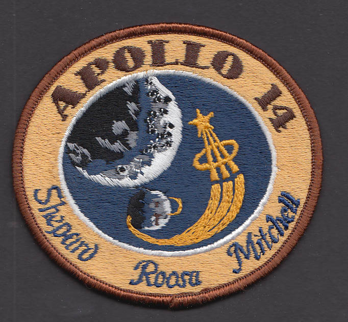 "Image for Apollo 14 Shepard Roosa Mitchell 3"" patch"