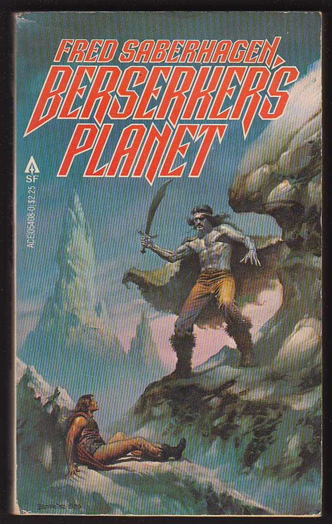 Image for Fred Saberhagen: Berserker's Planet 1980 sci-fi cover art by Boris Vallejo