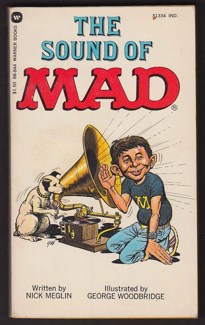 Image for Nick Meglin: The Sound of MAD PBO 1st 1980
