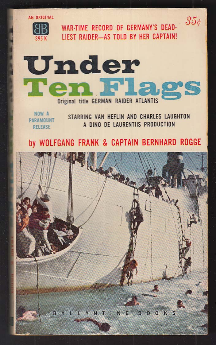 Image for Wolfgang Frank & Bernhard Rogge: Under Ten Flags pb 5th printing 1960