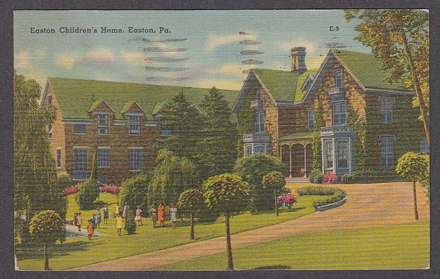 Image for Easton Children's Home Easton PA postcard 1942