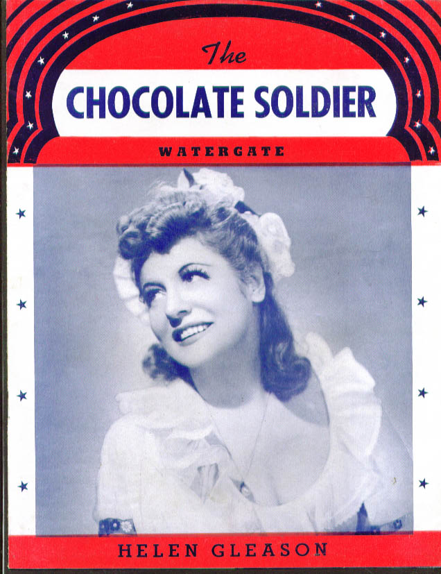 Image for Helen Gleason in The Chocolate Soldier program 1940s