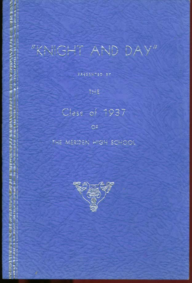 Image for Knight & Day Meriden High Drama program 1937 CT