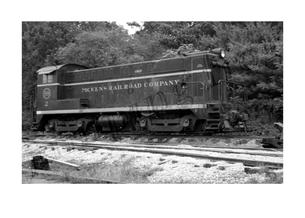 Image for Pickens Railroad diesel locomotive #2 5x7
