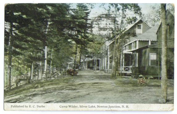 Image for Camp Wilder Newton Jct NH postcard 1915