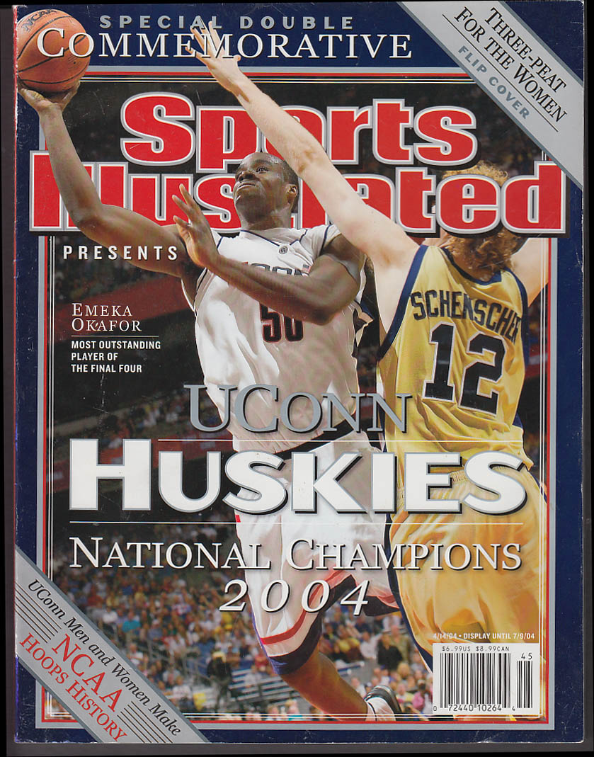Image for SPORTS ILLUSTRATED UConn Men's & Women's NCAA Basketball Special Issue 2004