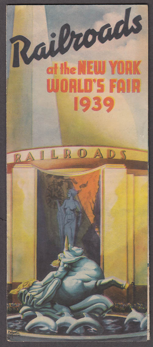 Image for Railroads at the New York World's Fair folder 1939