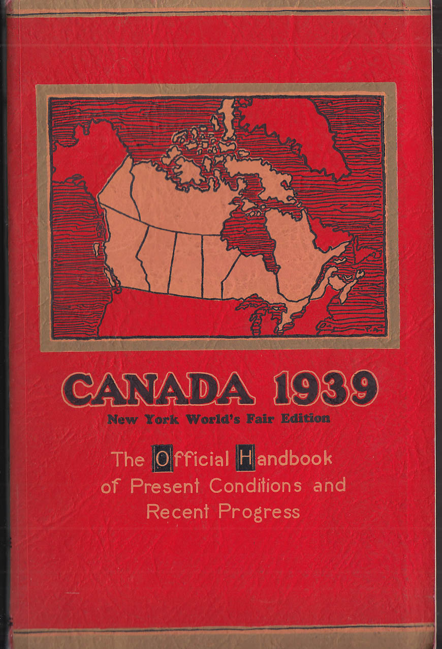 Image for Canada 1939 New York World's Fair Edition Official Handbook