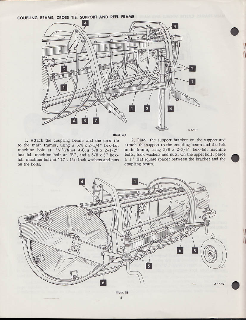 Image for International Harvester McCormick 11 Parallel Bar Side Delivery Rake Manual 1957