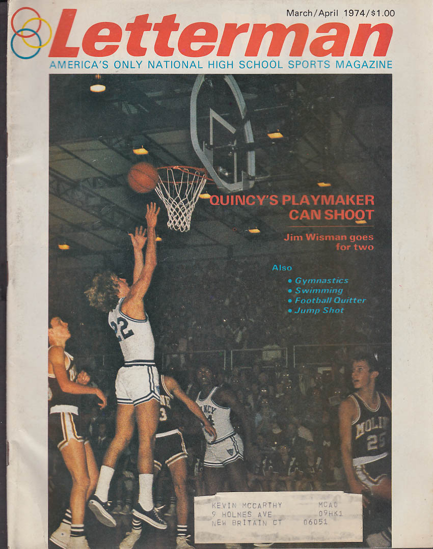 Image for LETTERMAN 3-4 1974 High School Basketball Kyle Macy Bruce Campbell Leigh Vinson