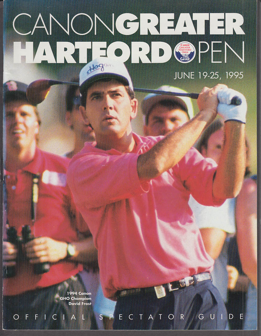 Image for Canon Greater Hartford Open Official Spectator Guide 1995