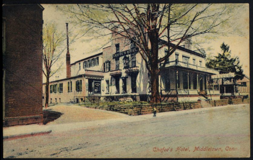 Image for Chafee's Motel Midletown CT postcard 1909