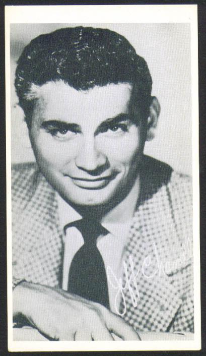 Image for Jeff Chandler 3x5 picture 1950s