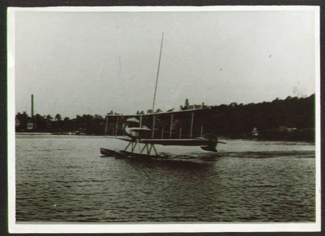 Image for Albatros WDD / FT seaplane photo Germany 1910s