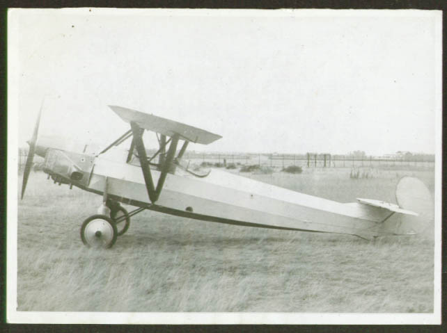 Image for Albatros L.101 high-wing monoplane photo Germany 1920s