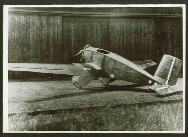 Image for Albatros L.59 low-wing monoplane photo Germany 1920s