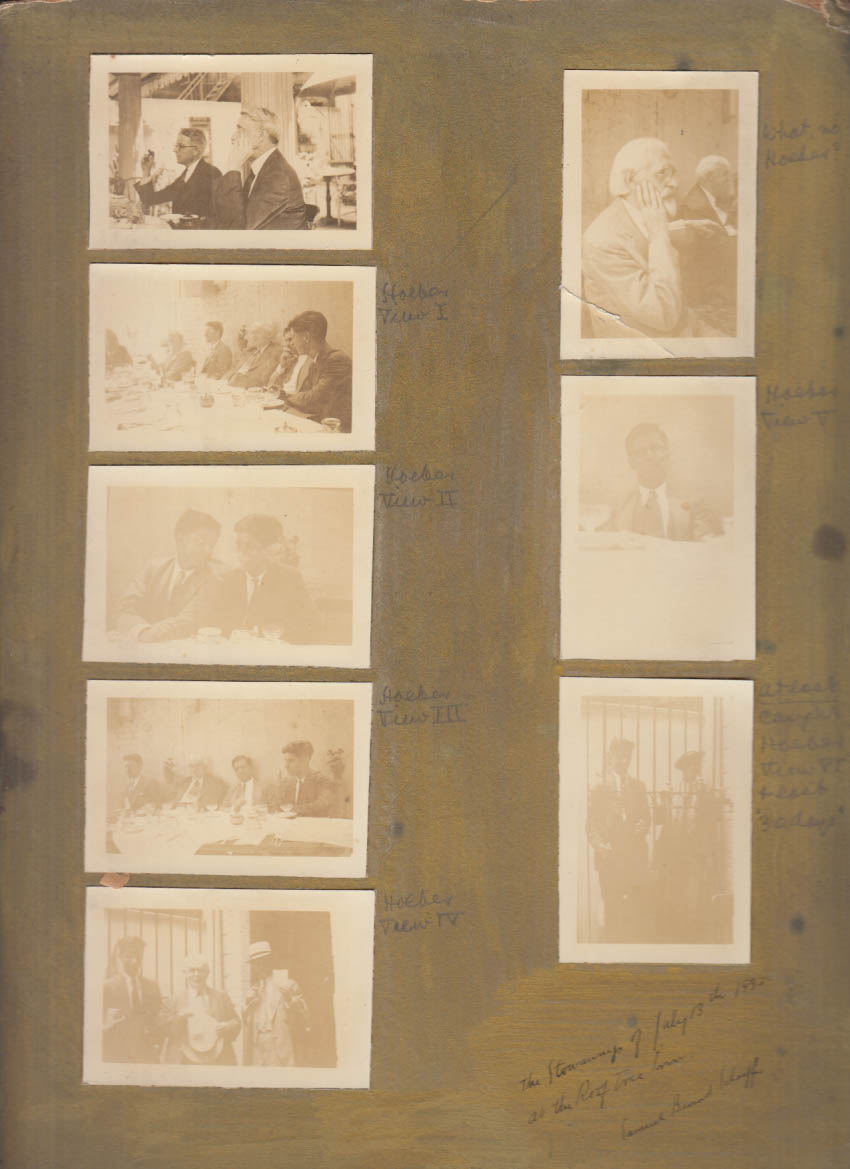 Image for The Stowaways graphic arts group Samuel Bernard Schaeffer SIGNED snapshots 1932