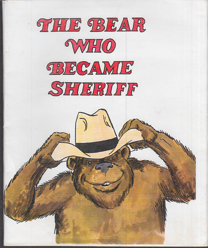 Image for Cartoonist Frank Bolle ORIGINAL The Bear Who Became Sheriff dummy 1990s