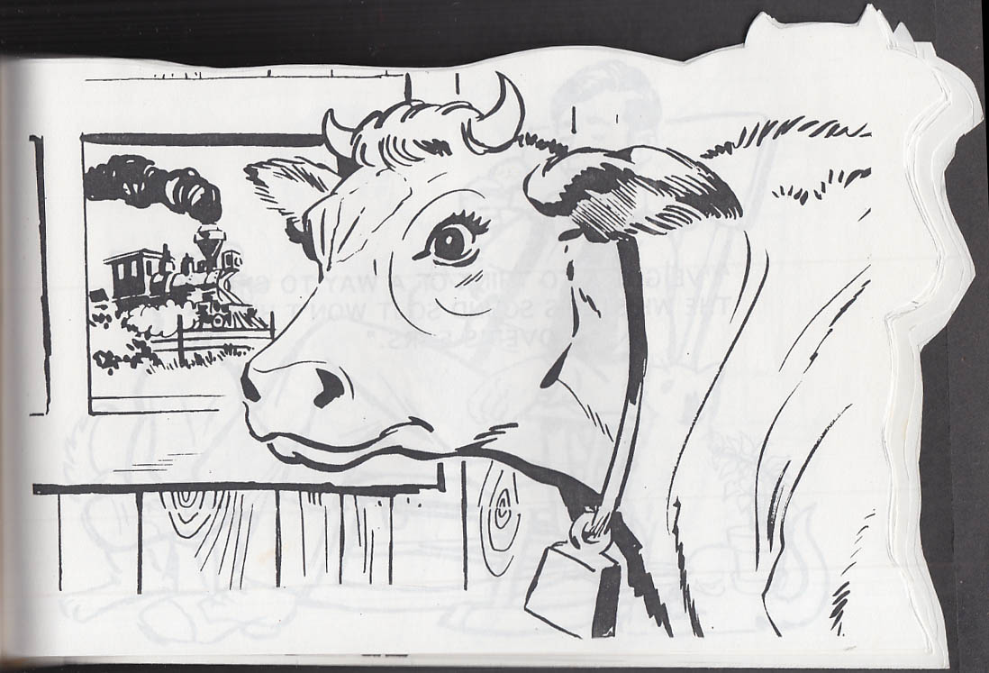 Image for Cartoonist Frank Bolle ORIGINAL Clover the Cow TWO variant dummies 1990s