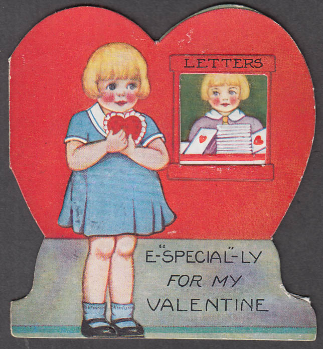Image for E-Special-ly for my Valentine folding card 1930s Uncle Sam is a friend of mine