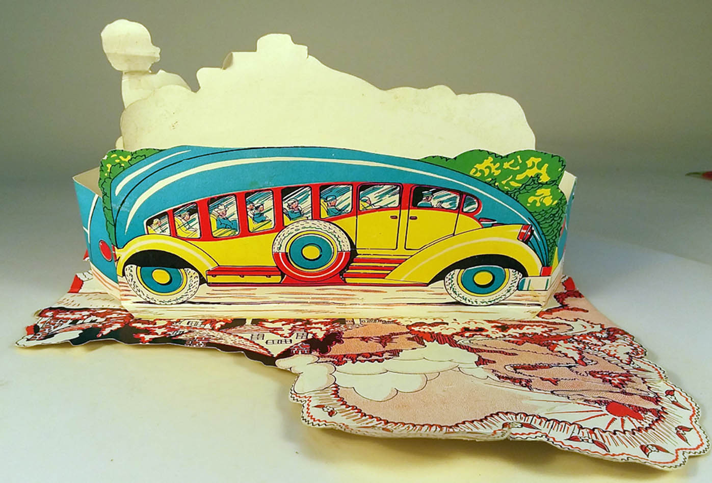 Image for Id go a long way to be Your Valentine 1930s stand-up streamlined bus